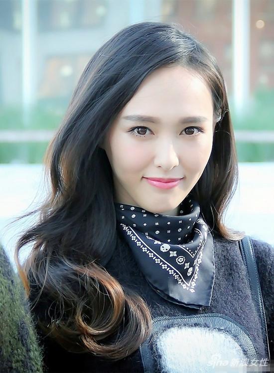 欧式眼的中国女明星