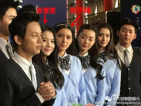 张予曦和张慧雯同演《栀子花开》