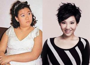 郑欣宜胖瘦对比