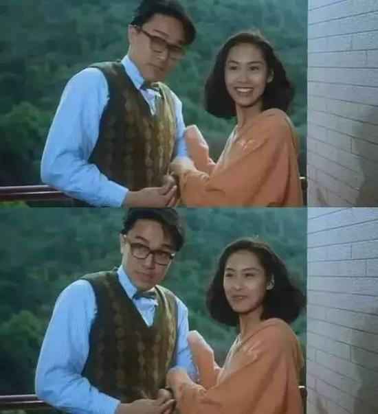 朱茵在1991年拍摄《逃学威龙2》和周星驰擦出爱火,在《大话西游》图片