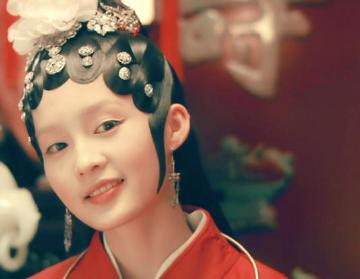 90后古装女神,郑爽仅第六,没想到她比关晓彤还美!