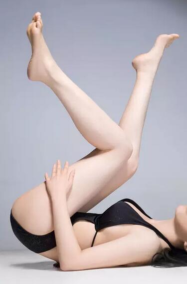 腿自缚教程图解