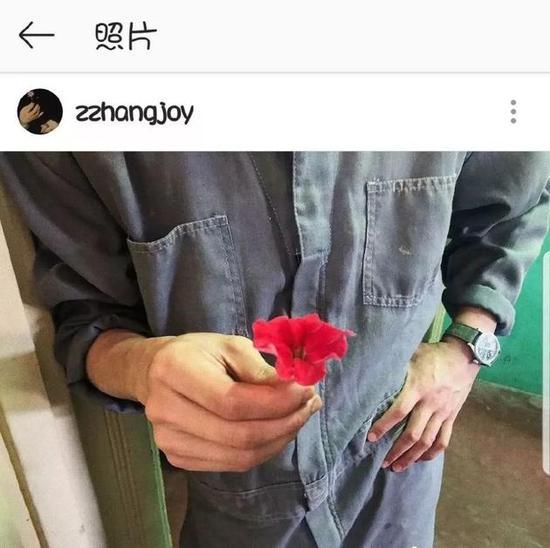 张婧仪发布照片秒删