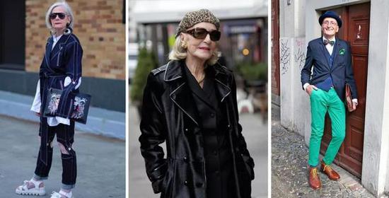 年过七旬的时尚icon 银发奶奶诠释:潮,就要一辈