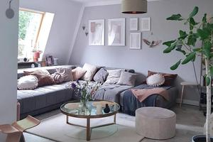 如何打造一个清新又温柔的家?配色和植物是关键