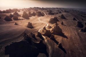 中国这个地方好像火星 孤独到极致美到震撼