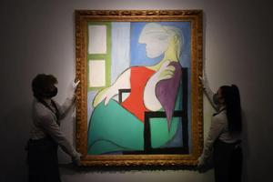 毕加索《坐窗边的女人》卖出6.6亿 仅用19分钟