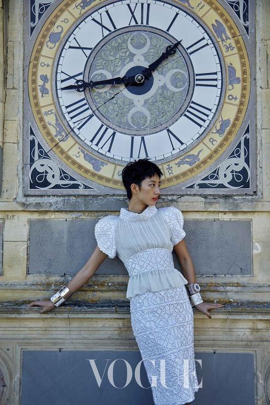 桂纶镁为Vogue拍摄杂志