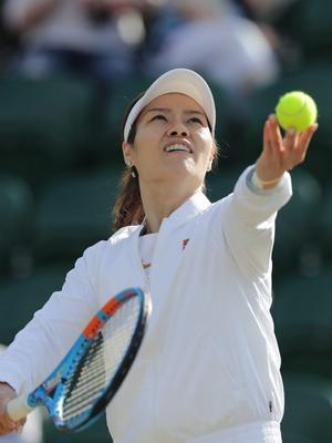 温布尔登网球公开赛女双元老赛首轮