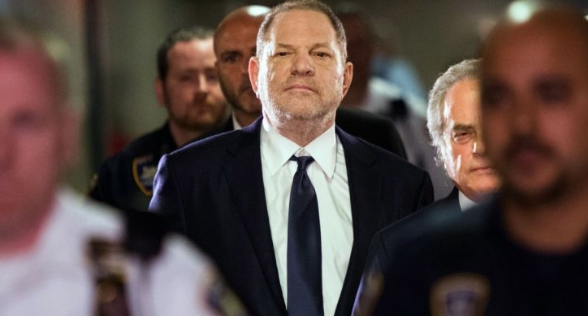 Harvey Weinstein denies admitting trading movie roles for sexual favors