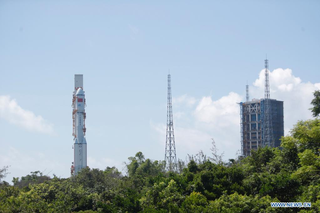 China prepares to launch Tianzhou-2 cargo spacecraft
