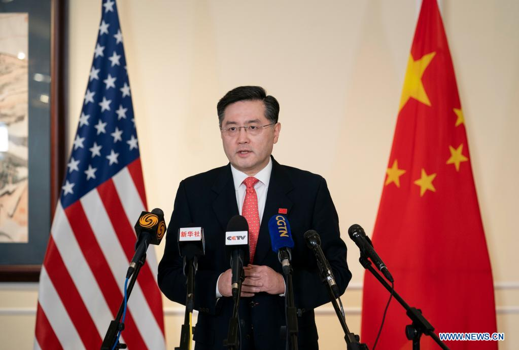 Door of China-U.S. relations