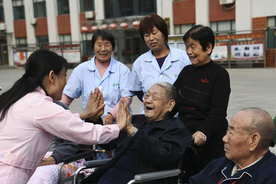 In pics: elderly care institutions in east China's Zouping