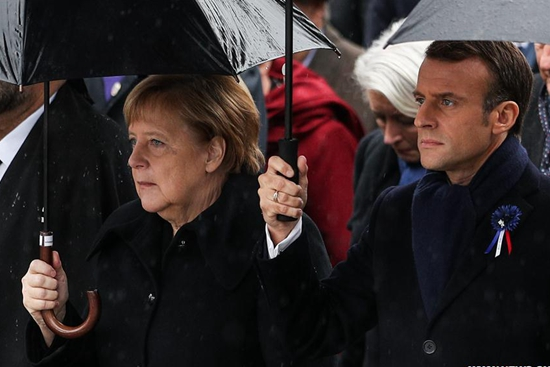 Upon centenary of WWI armistice, Macron warns rising risk of nationalism to world peace