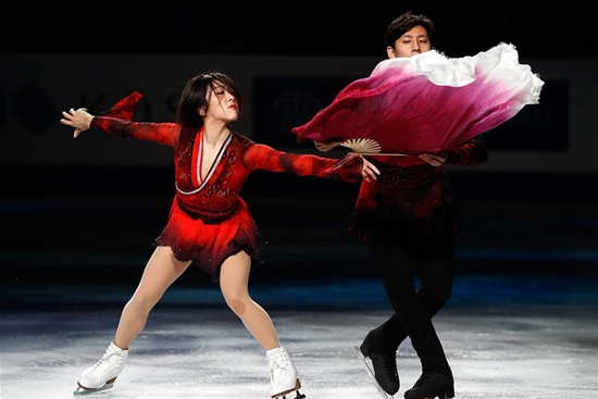 In pics: gala exhibition of 2019 ISU World Figure Skating Championships