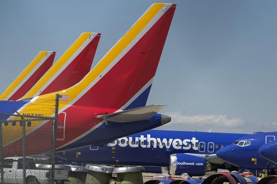 Plane of Southwest Airlines makes emergency landing at Orlando Airport