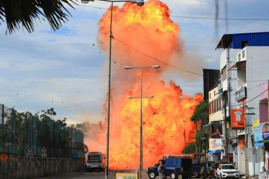 Another blast reported in Sri Lanka's capital