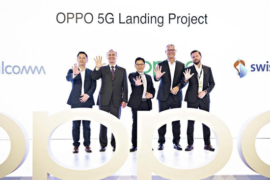 China's Oppo launches 5G smartphone with Swisscom in Zurich