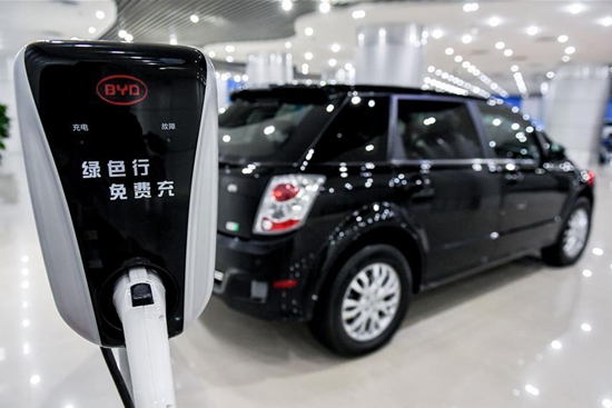 NEV market in China posts vigorous growth
