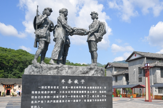 Cherishing the memory of the challenging Long March