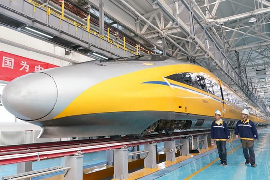 Beijing-Zhangjiakou high-speed railway starts debugging