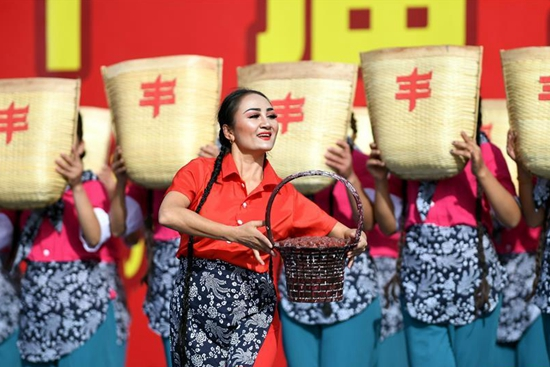 Jujube harvest festival held in Qiemo County, China's Xinjiang