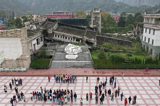 China's Yingxiu Town reconstructed from quake ruins
