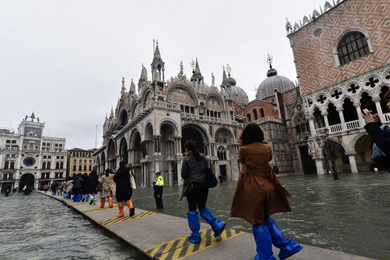 Venice in state of emergency after severe flood