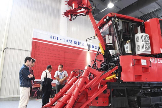 2019 China Sugarcane Mechanization Expo opens in Nanning