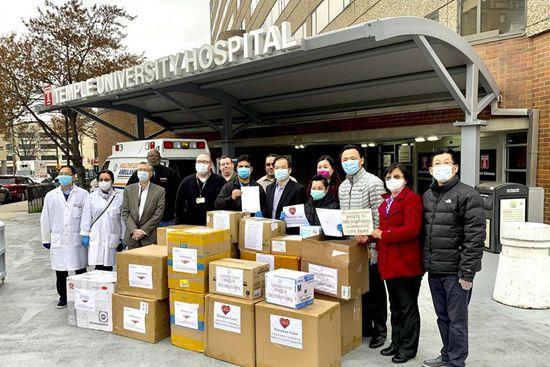 Chinese American communities across U.S. make hard efforts to help COVID-19 fight