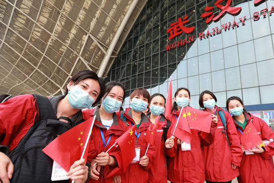 Last batch of 186 medical workers return to Hunan after aiding fight against COVID-19 in Hubei