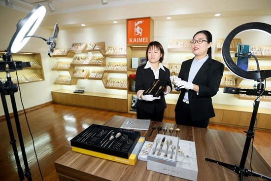 Canton Fair commences online in China's Guangdong