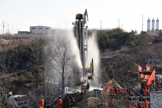 Rescue underway at explosion site of gold mine in China's Shandong