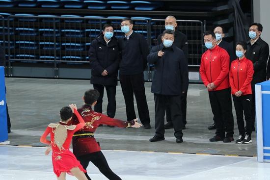 Xi inspects Beijing 2022 preparatory work