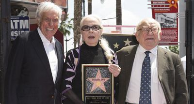 Barbara Bain receives star on Hollywood Walk of Fame
