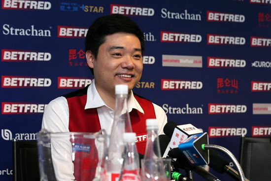 China's Ding crushes Alan McManus to reach finals at snooker worlds