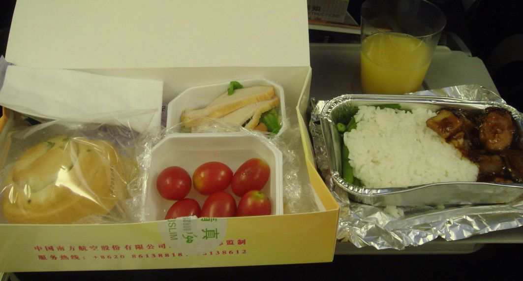 Travelers complain of all-halal food on planes