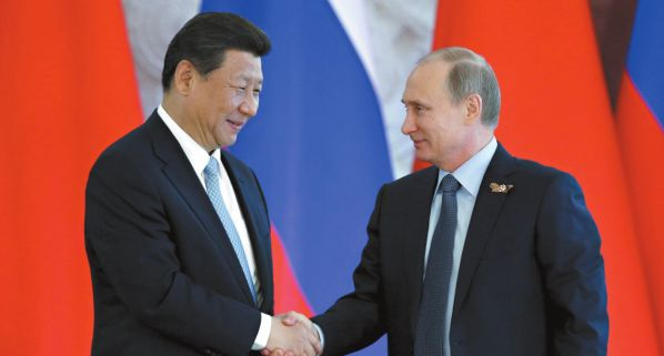 Putin looks to China projects