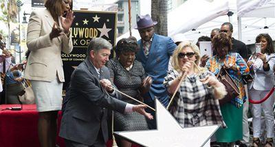 Singer Caesar receives star on Hollywood Walk of Fame