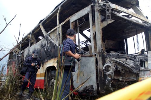 Taiwan bus bursts into flames, killing 26, including 24 tourists from Chinese mainland
