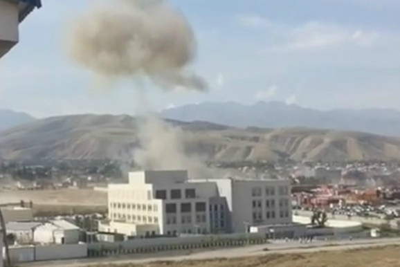 1 killed, 2 injured as suicide bomber attacks Chinese embassy in Kyrgyzstan