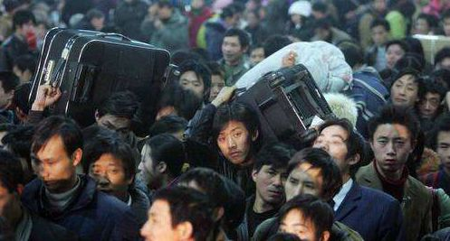 Travel peak comes as Chinese go home for Spring Festival