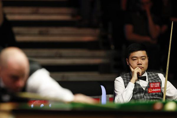 China's Ding shocked by Perry at Masters second round