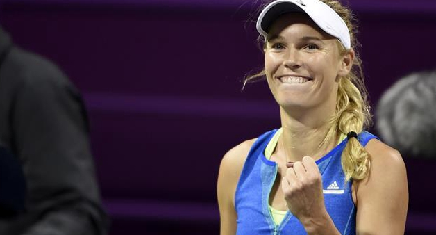 Wozniacki to face Pliskova in rain-delayed Qatar Open final
