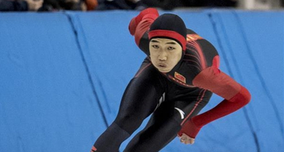 China's Gao claims title of men's 500m speed skating