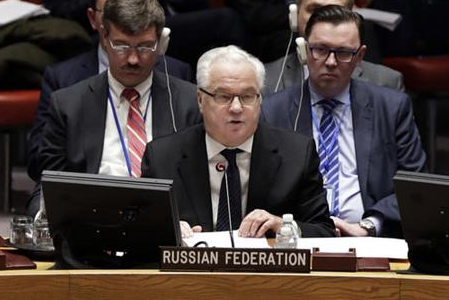 Russian ambassador to UN dies in New York