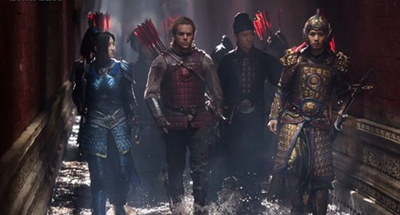 'The Great Wall' fails to please both Chinese and US audiences