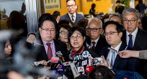 Former HK chief gets 20 months for misconduct