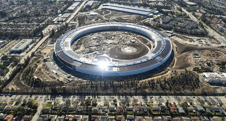 Apple says new California headquarters to open in April