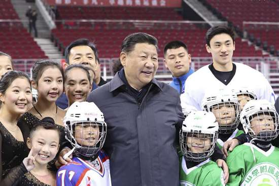 Xi stresses preparation for Beijing 2022 Winter Olympics